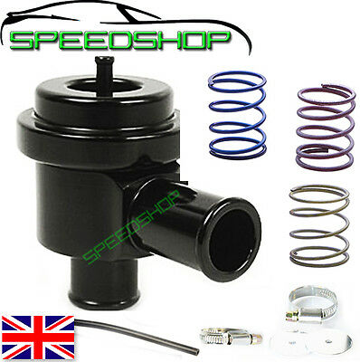 SAAB 900 9000 TURBO fit RECIRCULATING BOV DIVERTER DUMP BLOW OFF VALVE  Black