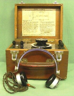 Very Rare And Highly Collectable Telephone Line Tester Sa.9004