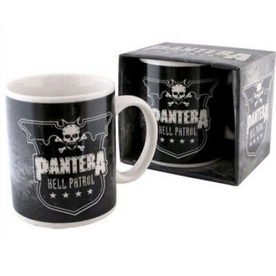 # Pantera - Hell Patrol Logo - Official Boxed Mug