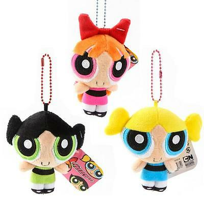 "3PCS/set 4.7"" Powerpuff Girls Doll The 1999 Cartoon Network Toy Pendant Gifts"