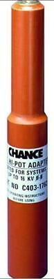 Hubbell Chance D.C. Hi - Pot 16Kv Adapter C403-1762 *Brand New & Free Shipping*