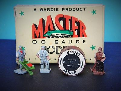 Master Models Wardie 1952 Boxed Diecast Oo Gauge Railway Cable Laying Party Set