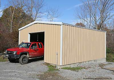 Thunderbolt steel buildings 28 39 x 30 39 x 12 39 metal garage for 20 x 25 garage kits