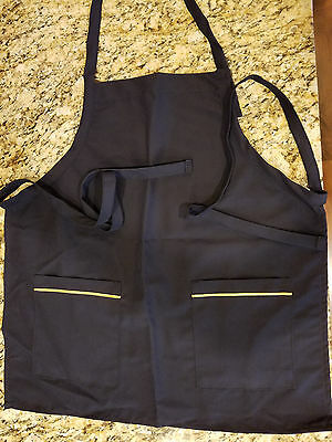 Continental Airlines Butcher Block Apron