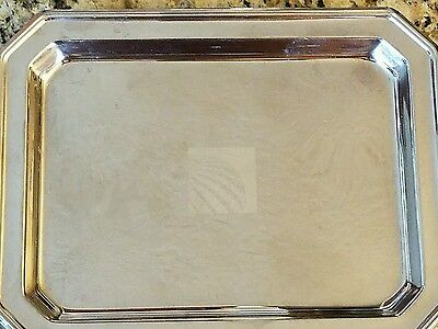 Continental Airlines Silver Serving Tray (Small)