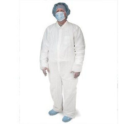 Disposable Coveralls Universal Size 5 pcs, Free Products Sample Kit