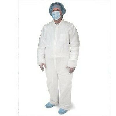 Disposable Coveralls Universal Size 25 pcs, Free Products Sample Kit