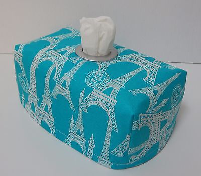 Lovely Gift Idea Silver Metallic Skulls Tissue Box Cover With Circle Opening
