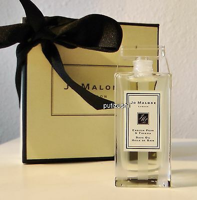 NEW in GIFTBOX Jo Malone  English Pear & Freesia Bath Oil, 30ml