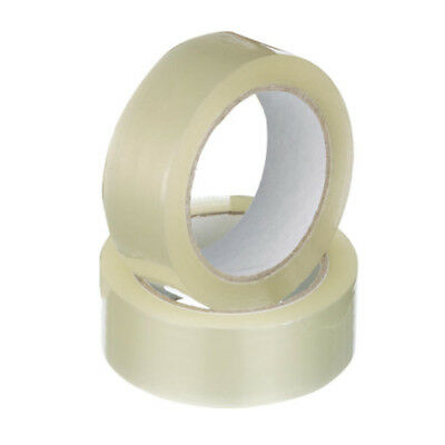Staples Packaging Tape Acrylic 24mmx75m Clear Pack 12 Rolls
