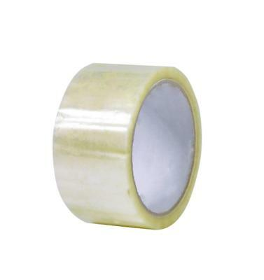 Staples Packaging Tape Acrylic 48mmx75m Clear Pack 6 Rolls