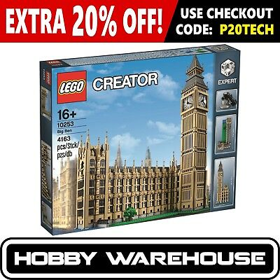 LEGO 10253 Creator Big Ben (BRAND NEW SEALED)