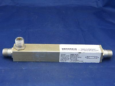 Kathrein Scala Division 2-Way Power Splitter 800-2200MHz 100W 50 Ohms IPD2-HLN