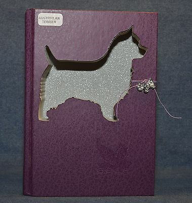 Australian Terrier Upcycled Book - 002