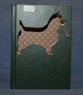 Australian Terrier Upcycled Book - 003
