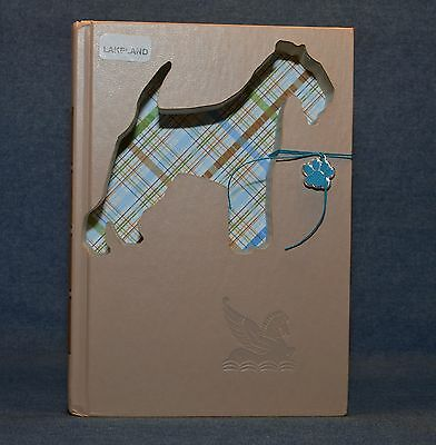 Lakeland Terrier Upcycled Book - 001