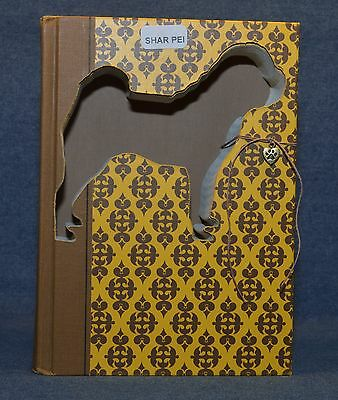Chinese Shar Pei Upcycled Book - 001