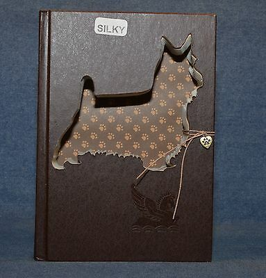 Silky Terrier Upcycled Book - 001