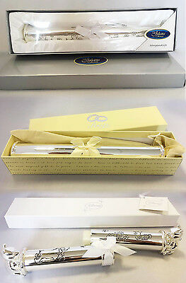 3 Certificate Holders Silver Plated Christening/Occasion Birth Certificate Gift