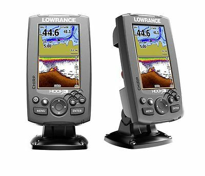 Lowrance Eco/GPS Hook-4 con trasduttore Downscan HDI 83/200kHz #62120180