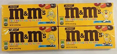 909534 4 x 87.9g BOXES OF PEANUT M&M's - CHOCOLATE CANDIES - USA