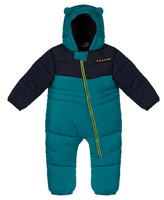 Dare 2b Snuggler Baby Infant Boy's Girl's Snowsuit | Enamel Blue