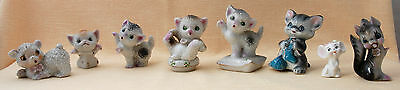 Animal Miniature Figurines (Collection of Eight)