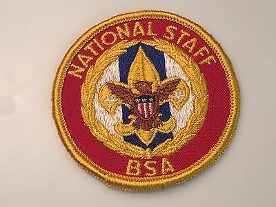 National Staff Adult Position Patch