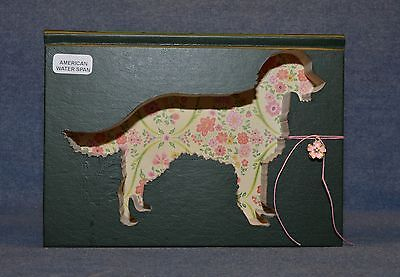 American Water Spaniel Upcycled Book - 001