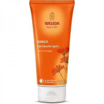 Weleda Gel douche sport à l'Arnica - tube 200 ml