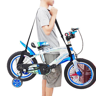 One Weight lifting Shoulder Carrying Strap for Kids Balance Bike, Scooter