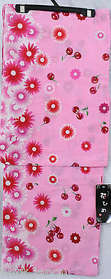 浴衣 Yukata japonais - Pink Cherry - Import direct Japon !