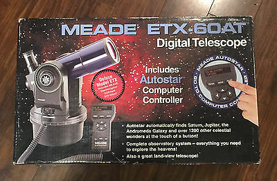 Meade ETX-60At Digital Telescope with Autostar Computer Controller