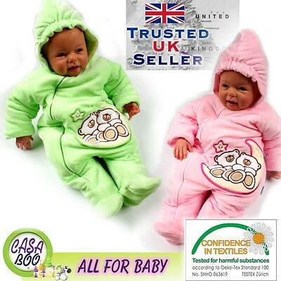 Baby Cotton velor overalls autumn suit romper sleeping bag hooded EMBROIDERED