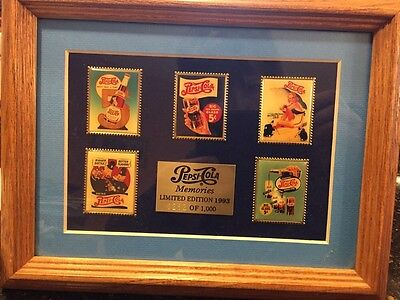 "Pepsi-Cola Limited Edition 1993-""pepsi-Cola Memories"" #282 Of #1,000/five Pins"