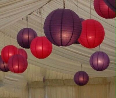 24x mixsize paper lanterns engagement wedding birthday party home event decor
