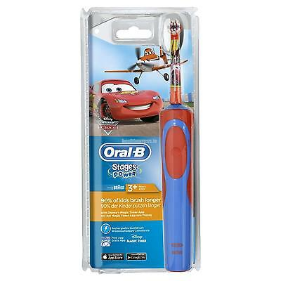 Oral-B Stages Rechargeable Toothbrush for Kids Disney Car Design