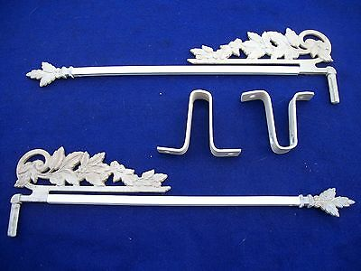Old-Vintage-Antique--Cast Swing A Way- Extending Drapery/curtain Rods