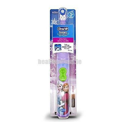 Oral-B Disney Frozen Rotating Battery Powered Toothbrush w/Timer App