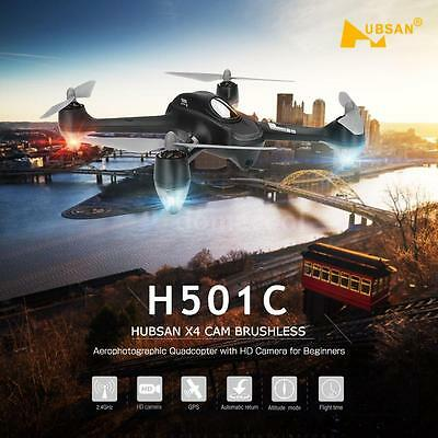 Hubsan H501C X4 Drone Brushless GPS Altitude Hold Mode RC Quadcopter Toys