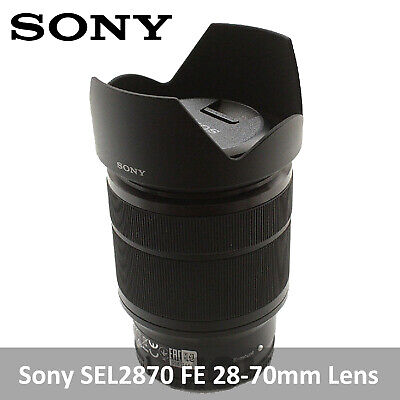 Sony SEL2870 FE 28-70mm F3.5-5.6 Full Flame Lens for A7 A7S A7R -Bulk Package