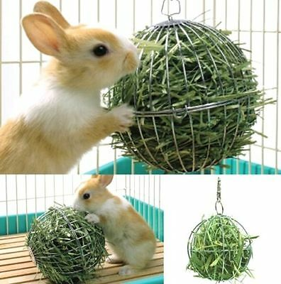 FD4925* Sphere Feed Dispenser Hanging Ball Guinea Pig Hamster Rabbit Pet Toy