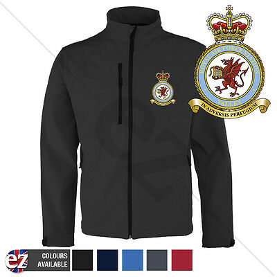 RAF Valley - Softshell Jacket - Personalised text available