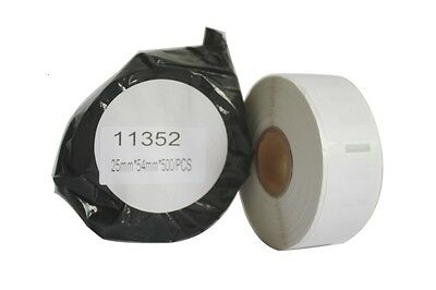 High Quality 11352 DYMO Compatible Labels for LabelWriter 25*54mm 500Pcs/Roll