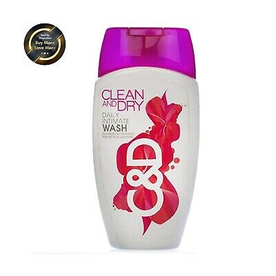Clean and Dry Daily Intimate Wash 100ml | Free Shipping Worldwide
