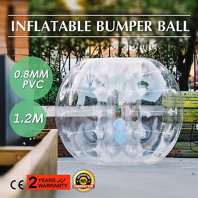 1.2M Inflatable Bubble Bumper Zorb Ball TPU Football Durable Adult Soccer PRO