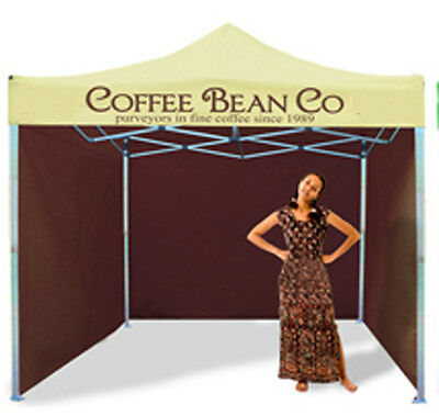 Mobile Catering Trailer Aluminium Gazebo Coffee Stand Bar Beer Tent Marquee Bar