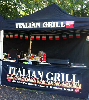 MOBILE CATERING unit GAZEBO HUGH END OF YEAR SALE £100 OFF LAST FEW LEFT +signs