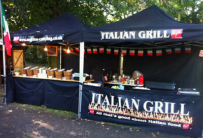 Mobile Catering Trailer commercial heavy duty aluminium fast food event catering