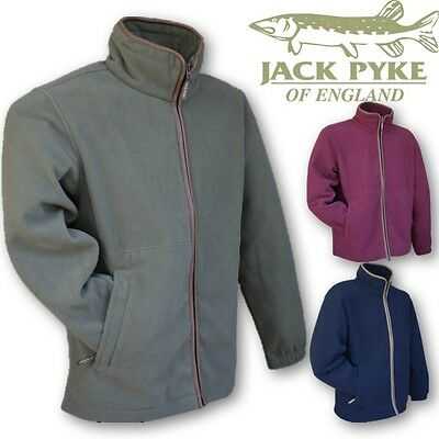 Jack Pyke Countryman Fleece Jacket Men's S-3Xl Hunting Shooting Fishing Green